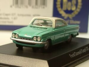 grün 1965-1:87 #87570 BoS-Models Büssing Commodore 16-210