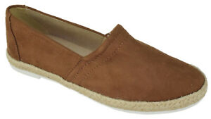 Soda-Shoes-Women-Flat-Slip-On-Loafers-Casual-Sneakers-Espadrilles-Brown-BOOTH-S