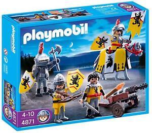 Playmobil 4871 troupe de lion des chevaliers 30465358040