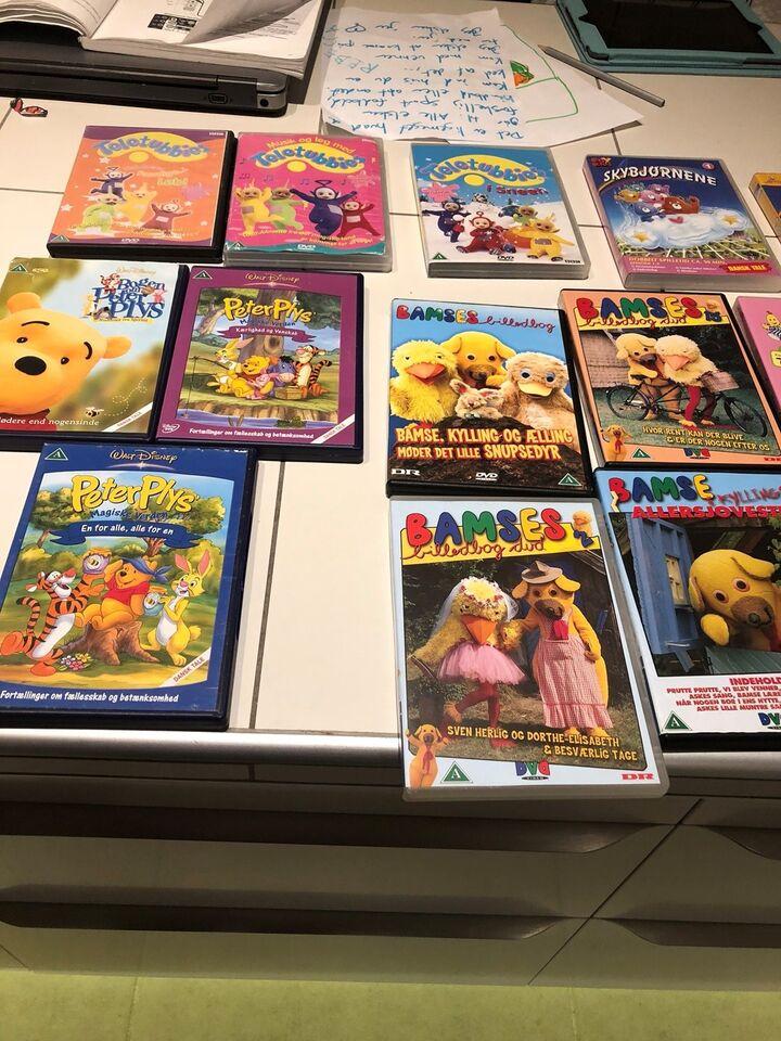 Blandet, DVD, tegnefilm
