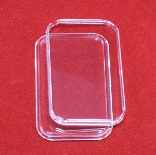 50 Air-Tite 1 oz Silver Bar Direct Fit Bar Holder Capsules