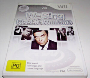 Robbie-Williams-We-Sing-Nintendo-Wii-PAL-Complete-Wii-U-Compatible
