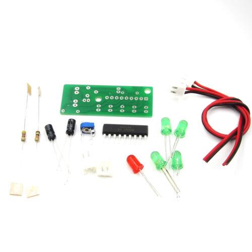 KA2284 3.5-12V DIY KIT Audio Level Indicator Electronic Kit Parts RED Green LED