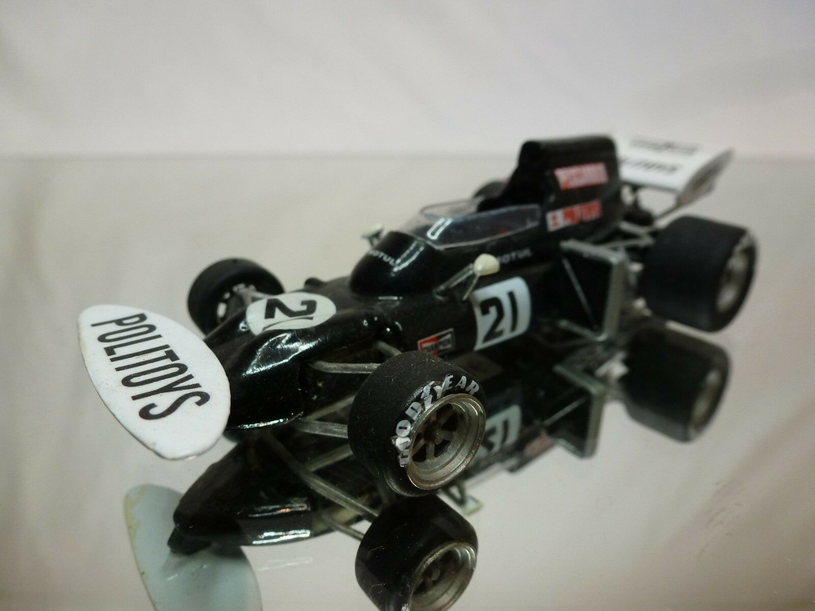KIT (built) - formule 1 car 1972 henri pescarolo POLITOYS 1 43  NICE CONDITION