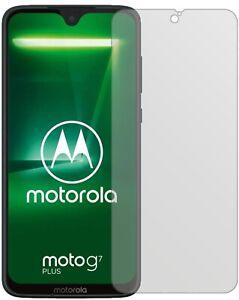5x-Schutzfolie-fuer-Motorola-Moto-G7-Plus-Display-Folie-matt-Displayschutzfolie