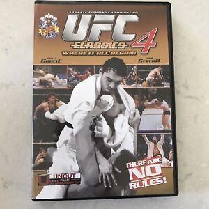 UFC-CLASSICS-4-Ultimate-Fighting-Championship-DVD-Royce-Gracie-Dan-Severn