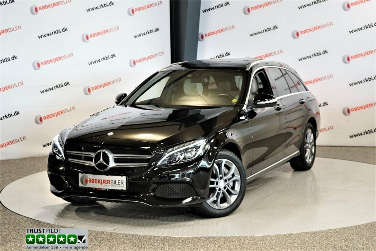Mercedes C250 d 2,2 Avantgarde aut. 4d