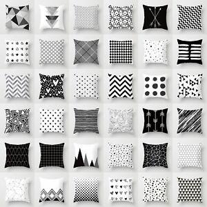 18x18-Geometric-Polyester-Pillow-Case-Cushion-Cover-Throw-Sofa-Home-Decor
