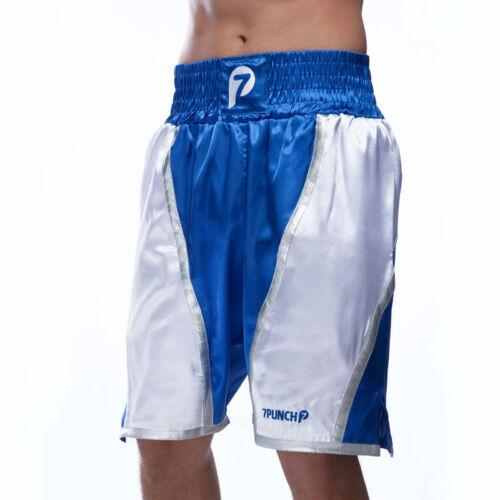 Boxer Short blau Boxing Short black Box-Hose 7PUNCH HighPro Boxerhose