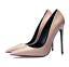 Patent-Leather-Court-Shoes-Pump-Pointy-Toe-Slip-On-Stiletto-Heel-Womens-Party-Sz thumbnail 14