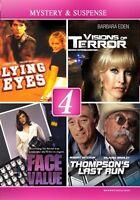 LIFETIME 4 FILMS MYSTERY AND SUSPENSE New Sealed DVD Barbara Eden Robert Mitchum