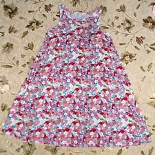 H&M Flowers Tricot Cotton Dress size 122/128