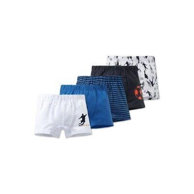 Klug Schiesser: 5er Pack Shorts,blau Weiß 163451/182 Gut FüR Antipyretika Und Hals-Schnuller