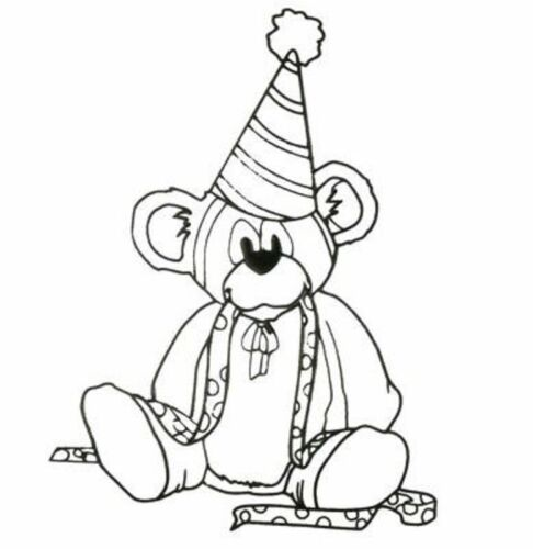 Clear Stamps Birthday Bear