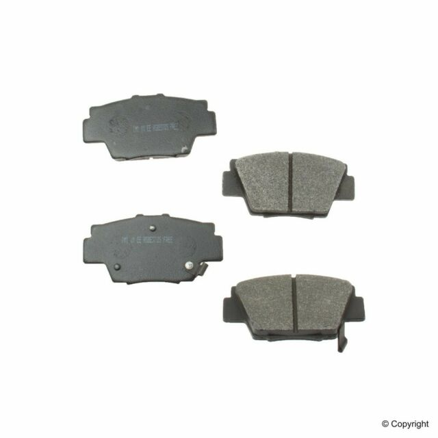 Disc Brake Pad Set Fits 1991-2005 Acura NSX MFG NUMBER