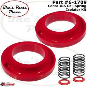 Prothane 6-1709 Red Lower IRS Spring Isolator