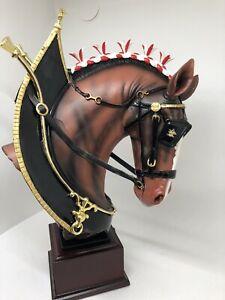 Budweiser-Majestic-Clydesdale-Masterpiece-Sculpture-2013-Bradford-Exchange-Ltd