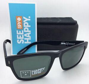 7a28e84173 Image is loading Polarized-SPY-OPTIC-CROSSTOWN-Sunglasses-HAIGHT -Black-Frames-