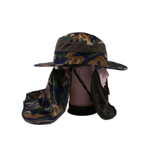 Boonie Fishing Hiking Hunting Sun Hat with Face Neck Cover