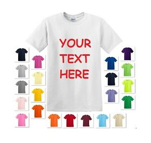 PERSONALIZED-CUSTOM-PRINT-YOUR-OWN-TEXT-ON-A-T-SHIRT-CUSTOMIZED-TEE-MEN-039-S