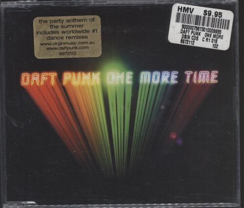 1 of 1 - Daft Punk - One More Time CD (Single excellent cond)