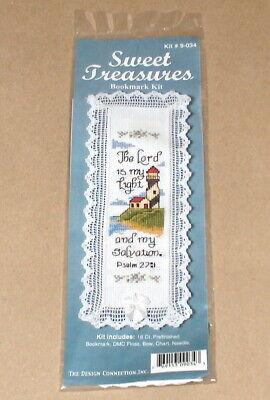 "Religious /""True Vine My Father is the Gardener/"" Cross Stitch Bookmark Kit NIP"