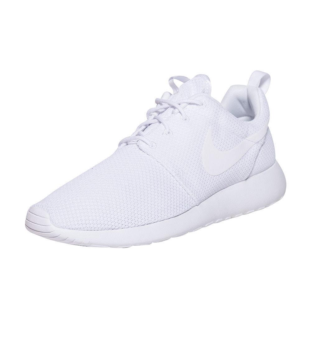 Nike Roshe Informal 8-12 Zapatos Blanco/Blanco One Tallas 8-12 Informal Nuevo En Caja ac714b