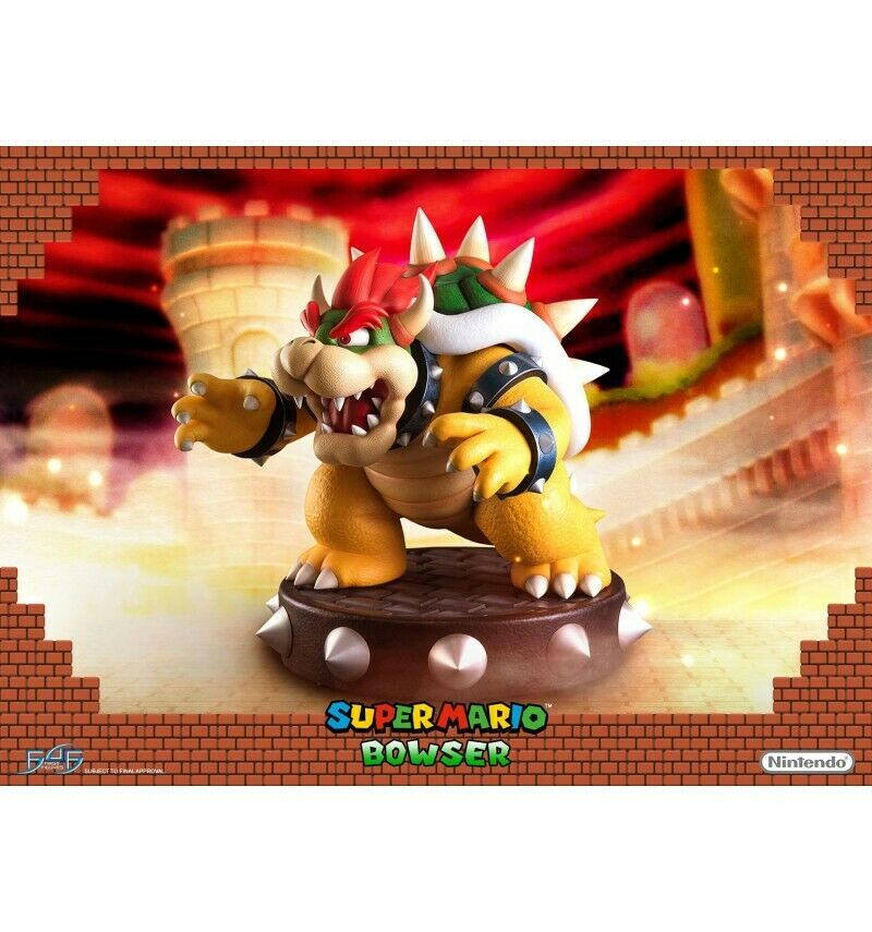 First 4 Figures - Statue Bowser - 49cm