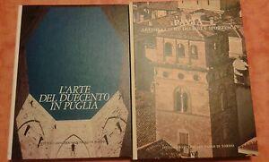 PAVIA ARCHITETTURE DELL'ETA' SFORZESCA-L'ARTE DEL DUECENTO IN PUGLIA - Italia - PAVIA ARCHITETTURE DELL'ETA' SFORZESCA-L'ARTE DEL DUECENTO IN PUGLIA - Italia