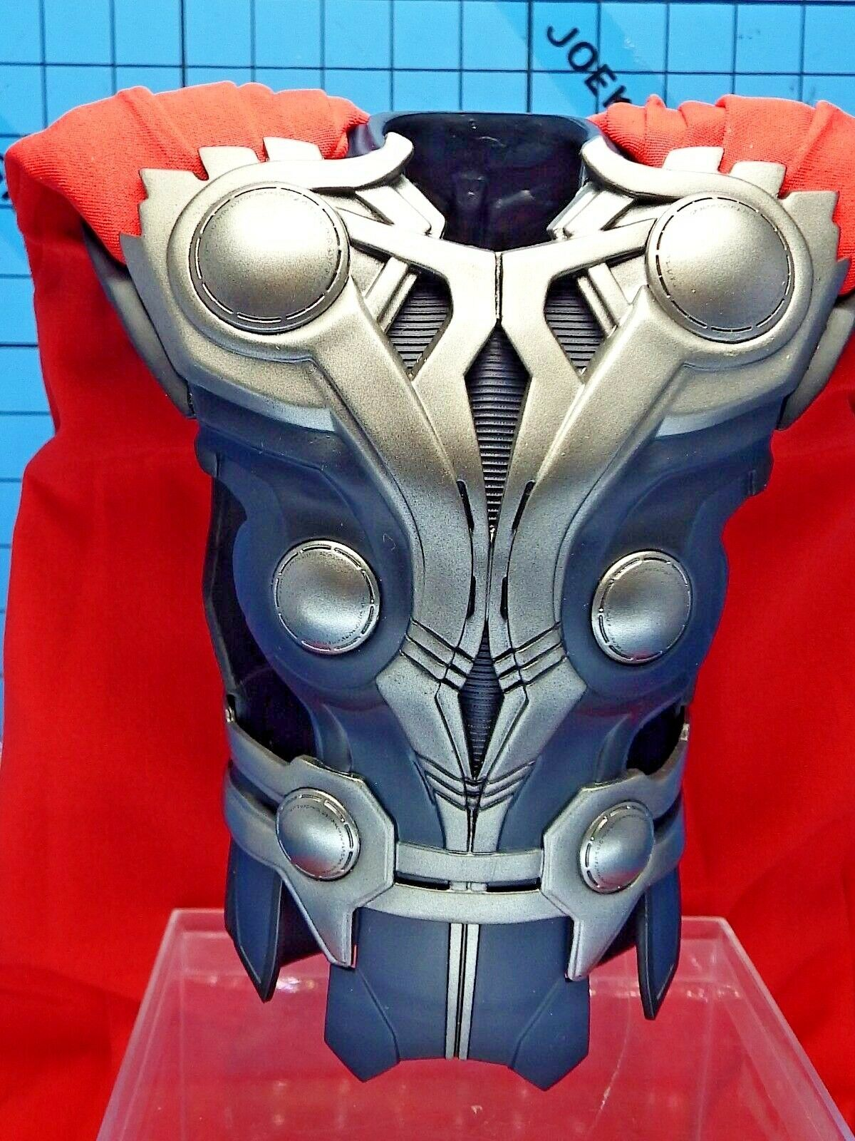 Hot Hot Hot Toys 1 6 MMS175 The Avengers Thor Figure - Upper Body Armor + Red Cape b625f7