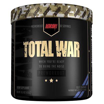 Redcon1 Total War Pre Workout Pump Intense Energy Focus 30 Serve Best Price