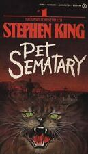 PET SEMATARY by Stephen King paperback FREE USA SHIPPING steven cemetery