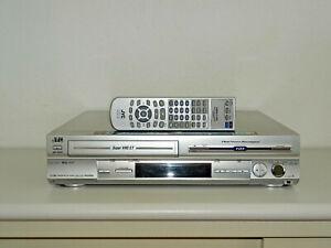 JVC HM-HDS4 High-End S-VHS Videorecorder / 80GB HDD inkl. FB, 2 Jahre Garantie
