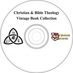 Christian-amp-Bible-Theology-Vintage-Book-Collection-on-CD