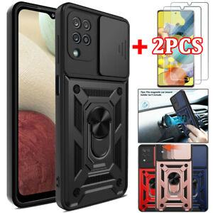 Pour Samsung Galaxy A12 A32 A52 A72 A71 A51 Shockproof Armor Case magnétique Cover