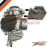 Polaris Sportsman 400 Carburetor Fuel Pump 4wd Atv Quad Carb 2001-2004 Non Ho