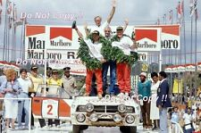 Bjorn Waldegard Toyota Celica GT-Four ST165 Winner Safari Rally 1990 Photograph