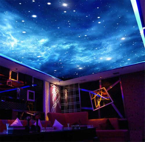 Intact Star Night 3D Ceiling Mural Full Wall Photo Wallpaper Print Home Decor