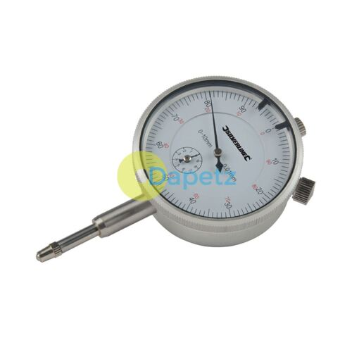 10mm Low Measuring Force And 10mm Travel New Metric Dial Indicator 0mm