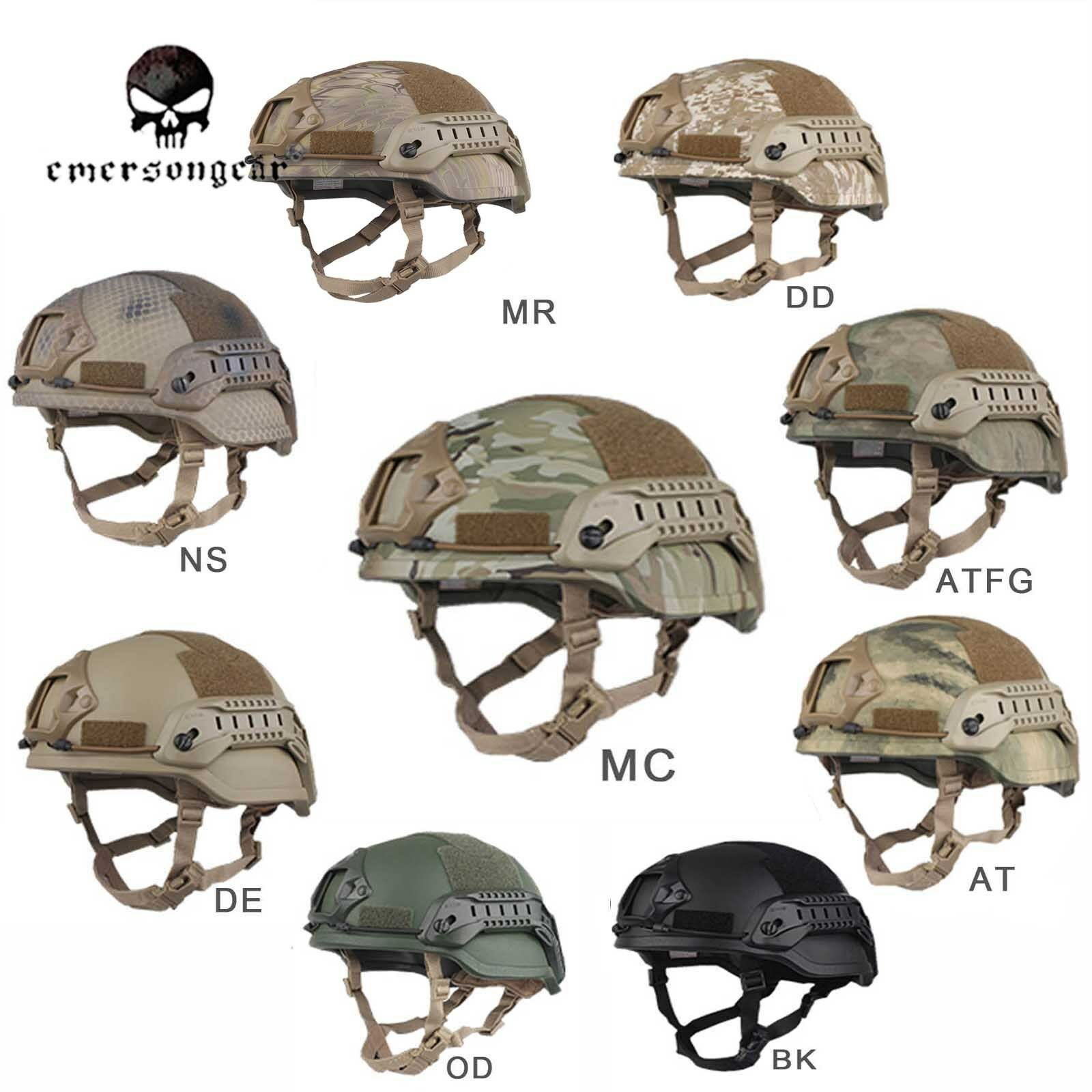 Hunting military army Helmet EMERSON Tactical ACH MICH 2002 Special  Action  lightning delivery