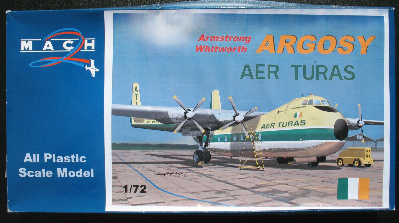 MACH 2 GP089 - Armstrong Whitworth ARGOSY AER TURAS - 1 72 -Flugzeug Bausatz Kit