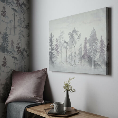Art for the Home Mystical Forest Walk Printed Canvas