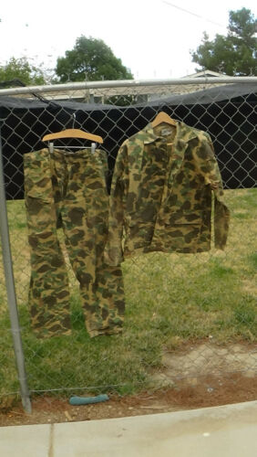 Chief Duck Hunting outfit 1960s shirt & pants