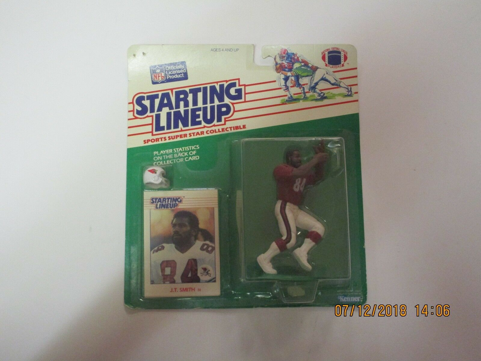Starting Lineup J.T. Smith Football Figure