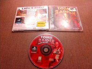 Sony-PlayStation-1-PS1-PSOne-CIB-Complete-Tested-Tomb-Raider-II-Lara-Croft