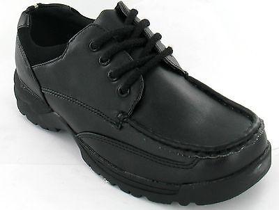 Schulanfang Jungen schwarzer Schnürschuh Smart Schuhe Schuhgrößen 13-3 N1002
