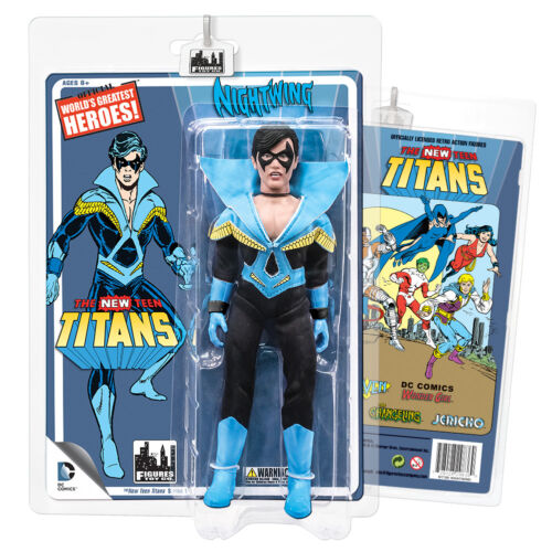 Set of all 4 DC Comics Retro Style 8 Inch Figures New Teen Titans Series