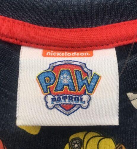 PAW PATROL SHORT SLEEVE T SHIRT AGES 1-5 YEARS BNWT