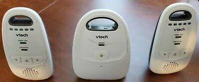 VTech DM112-2 Safe /& Sound Digital Audio Baby Monitor With Two Parent Units