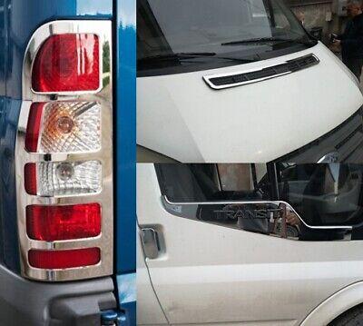 Ford TRANSIT chrome feu arrière couvre Trim 00-MK6 MK7